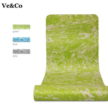 Ve&CO Yoga Mat TEP 3 Colors  Exercise Mat Thick Non-slip Folding Gym Fitness Mat 2017 Famous Brand Non-skid Floor Playing Pad
