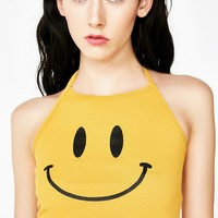 Oh Happy Day Halter Top