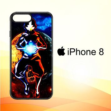 Avatar Aang The Last Airbender Z0003 iPhone 8 Case