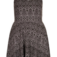 Petite Lace Burnout Tunic Dress - New In This Week - New In - Topshop USA