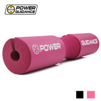POWER GUIDANCE Barbell Squat Pad/Weight Lifting Cushioned Neck & Shoulder Protective Pad - for Bar, Hip Thrusts  45*9CM