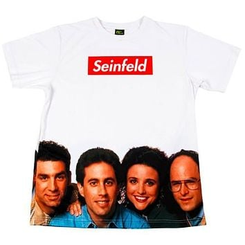 SEINFELD BOX LOGO T-SHIRT