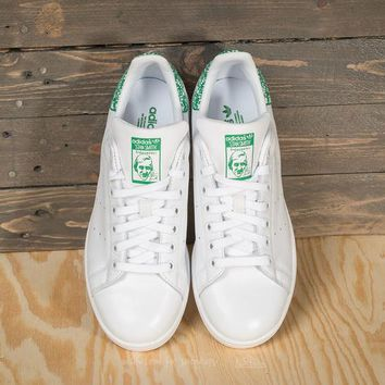 "Adidas Stan Smith Sneaker ""White Green Snowflake""BZ0407"
