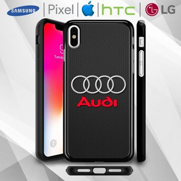 150893b8c8 AUDI LOGO PHONE CASE For iPhone 5 5s 6 6s 7 8 X XR XS MAX