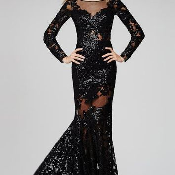 Long Sexy Jovani Dress 32607