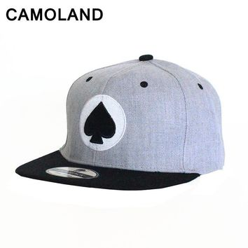 Trendy Winter Jacket Baseball Caps Men Women poker Spades heart Printed Casual Snapback street dance Hip Hop Fashion Sports Hats Summer Brand Unisex AT_92_12