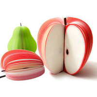 Apple Memo Pad Teacher Gifts [220]
