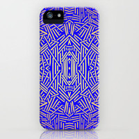 Radiate (Yellow/Ochre Royal) iPhone Case by Jacqueline Maldonado | Society6