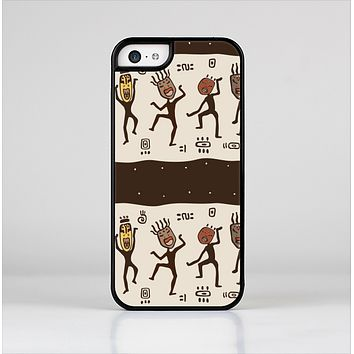 The Dancing Aztec Masked Cave-Men Skin-Sert Case for the Apple iPhone 5c