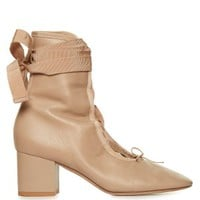 Ballerina lace-up ankle boots | Valentino | MATCHESFASHION.COM US