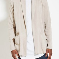 French Terry Cardigan | 21 MEN - 2000150393