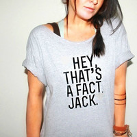 FREE SHIPPING- Off Shoulder Shirt, Redneck Shirt, Fact Shirt (women, teen girls)