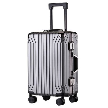 2019 New Ultralight Luggage Customs Lock Anti-theft Suitcase Wheel 360 Degree Rotating Suitcase Frosted Waterproof Zipper Box