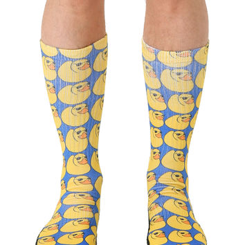 Rubber Ducks Sport Socks