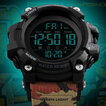 Men's Outdoor Sports Watches Countdown Dual Time Alarm Fashion Digital Wrist Watch Men Waterproof Clock Male Relogio Masculino