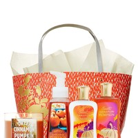 Sweet Cinnamon Pumpkin Ultimate Fragrance Fan Gift Set   - Signature Collection - Bath & Body Works