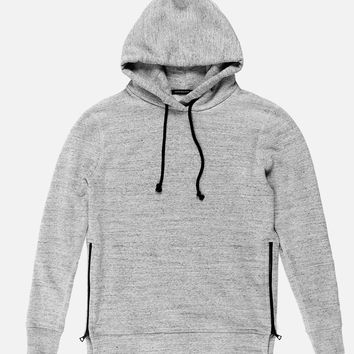 Loopwheel Hooded Villain / Grey