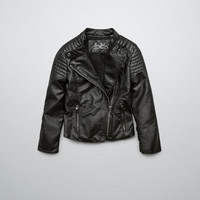 JACKET WITH QUILTED PATCHES - Girl - New this week - ZARA United States