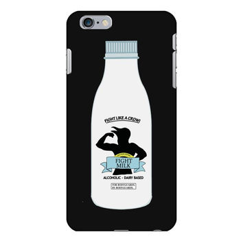 10. fight milk 002 iPhone 6/6s Plus  Shell Case