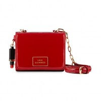 Red Patent Leather Small Verity | Shoulder Bags | Handbags | Lulu Guinness