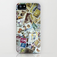 Stamps iPhone Case by Bruce Stanfield | Society6