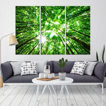 60691 - Forest Wall Art- Autumn Canvas Print- Forest Canvas- Forest Canvas Art- National Art Print- Canvas Print- Large Wall Art-