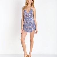 For Love & Lemons Luau Halter Dress D1328ET - Free Shipping at Largo Drive