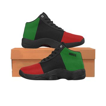 Red Black Green Sport Shoes