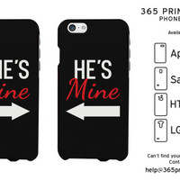She's Mine and He's Mine Matching Couple Phone Cases - 365 Printing Inc