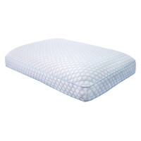 Soft-Tex SensorPedic Regal Gusseted Bed Pillow with Gel - White