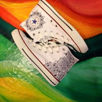 Custom Canvas Converse Shoes