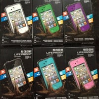 Authentic Lifeproof Case for Apple iPhone 4 or 4s 2nd Generation Waterproof