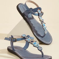 Front Porch Festive Leather Sandal