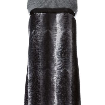 DSQUARED2 contrasting panel dress