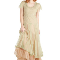 Fairy Important Date Dress in Sage