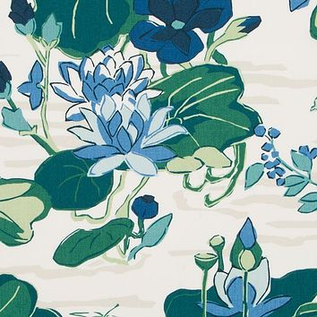 Robert Allen Fabric 510586 Lake Agawam Ocean