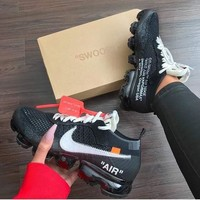 OFF-WHITE x Nike Air Vapor Max Sports Shoes