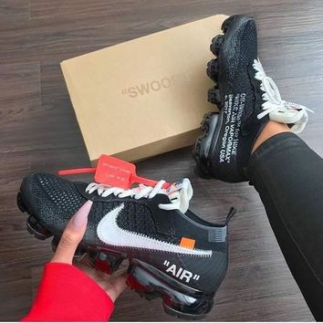 2018 Original OFF-WHITE x Nike Air Vapor Max Leisure sports shoes