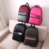 Hot Deal Stylish On Sale College Back To School Comfort Casual Simple Design Waterproof Korean Backpack [11649854479]