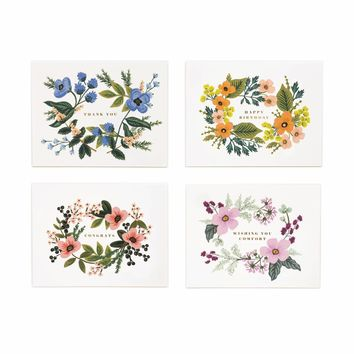 Bouquet Set Assorted Card Set