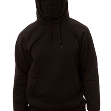 The Kato Ninja Hoodie in Black Fleece