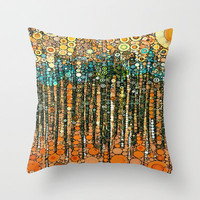 :: sundance :: Throw Pillow by GaleStorm Artworks | Society6