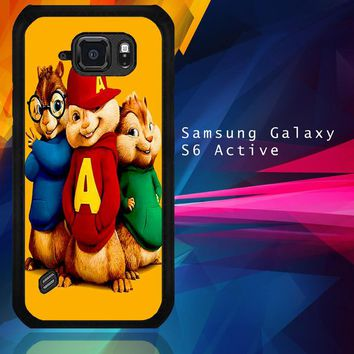 Alvin And The Chipmunks Character V 2074 Samsung Galaxy S6 Active  Case