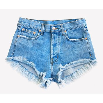 Classic Stone Vintage High Waisted Shorts