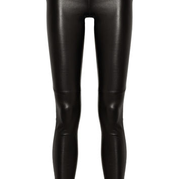 Gucci - Stretch-leather skinny pants