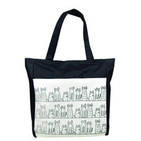 Cat Sketch Tote bag