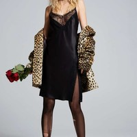 #NastyGalXCourtneyLoveLove, Courtney by Nasty Gal Once and Destroy Satin Slip