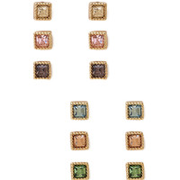 Chic Square Studs