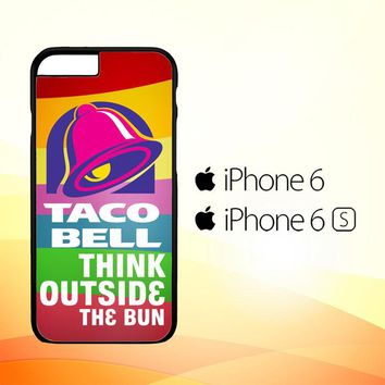 taco bell logo Z3337 iPhone 6|6S Case