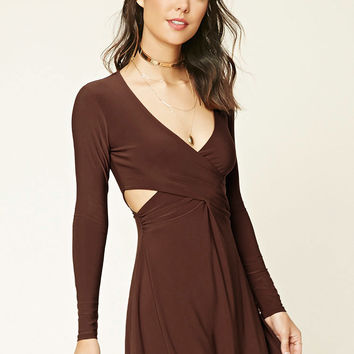Contemporary Surplice Dress